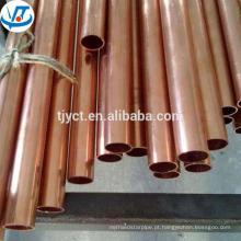 Preço de fábrica laminado a quente C11000 C10200 C12000 C12200 tubo de cobre / tubo de cobre / tubos de cobre preço por kg
