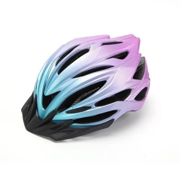 High Density EPS Foam And PC Material Adjustable Adult Cycling Riding MTB Bicycle Helmet