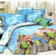 К 2015 году новый дизайн красивая Акула печатных 3D постельное белье Китай оптом
