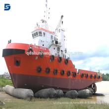 Bolsa a ar marinha de borracha do fornecedor chinês para o salvamento e o levantamento pesado do navio