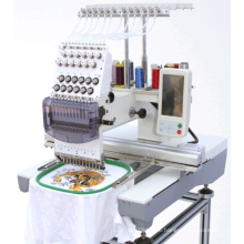 Single Head Cap and T-Shirt Embroidery Machine with 12 Needles