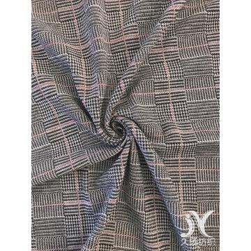 Yarn Dye Plaid Jacquard Knit