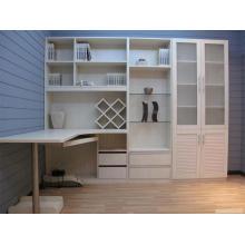 Cabinet blanc en bois blanc de PVC