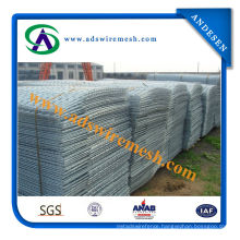 High Quality Low-Carbon Steel Wire Welded Wire Mesh / Square Hole Galvanized Welded Wire Mesh