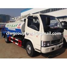Dongfeng camión de agua con la función de succión de aguas residuales