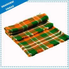 Manta de lana de rayas Manta de lana de lana