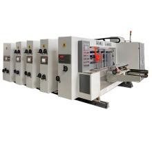 Full automatic small carton box printer slotter machine with stacker