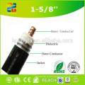Cabo coaxial do halogênio 7/8 do baixo fumo de 50 ohms com preço competitivo
