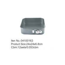 Non-stick Carbon Steel Square Cake Pan Springform Pan