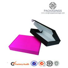 White Corrugated Cardboard Mailer Carton Box
