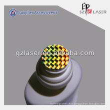 PVC temper evident labels cap heat seal label