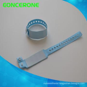 Barcode Hospital Logo Customized Identify Band Medical ID Bracelet