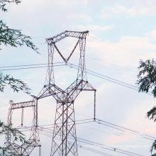 220kV Owl-Shapped Linear Power Transmission Iron Tower