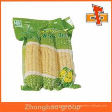 Great printing sealed plastic custom nylon bags for corn packaging