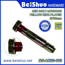 Cheap Wholesale Hex Bolt Sleeve Anchor with Plastic Ring in China