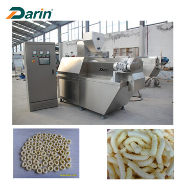 Venta caliente de maíz inflado Snacks Food Making Machinery