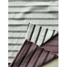 Baumwolle Poly Stripe Terry
