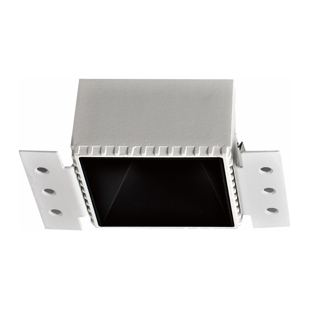 Square down light fixture