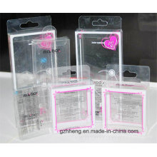 UV Printing Clear PP Gift Box for Cosmetics (PVC box)