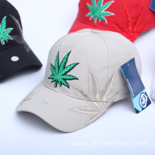 Maple Leaf Embroidery Baseball Cap