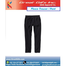 Custom made fleece trouser pant for gym and winter sports for men and women