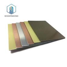 Panneau composite en aluminium PVDF mat pour la décoration intérieure