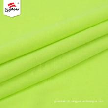 Tecido de composição de algodão de poliéster de cor lisa