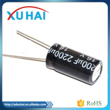 2016 Alta calidad y RoHS con 3300UF 450V condensador electrolítico de aluminio