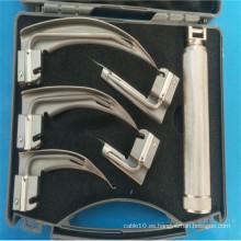 Hoja de laringoscopio de fibra óptica