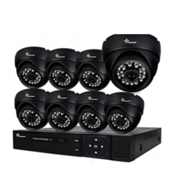 1080P IR Dustproof CCTV AHD Kit
