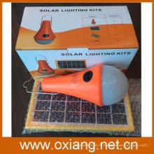 kit d'éclairage solaire de haute qualité de 3w / éclairage solaire / éclairage d'énergie solaire