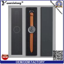 Yxl-410 New Fashion Ladies Quartz Bracelet Watch Elegant Vogue Wrist Watch Leather Steel Men′s Watch