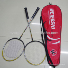 2014New Chegam Venda Quente Por Atacado Moda Esportes Profissionais De Alumínio Raquete De Badminton Sem Alumínio