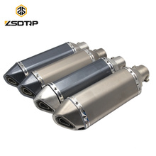 SCL-2015110042 Hot Wholesale Stainless Steel ATV AK Exhaust Muffle Pipe