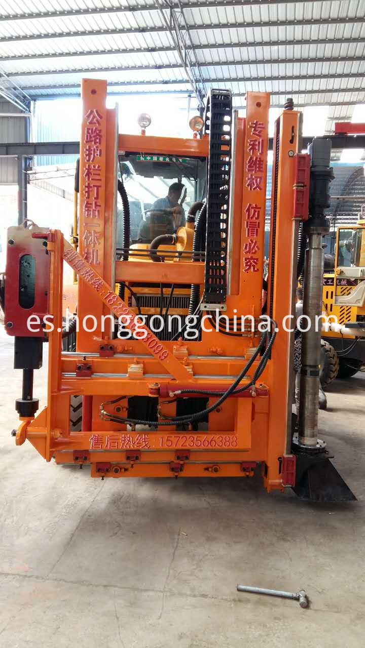 New Guardrail Installation Machine On Sale