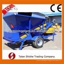 Novos produtos 10-30m3 / h estação móvel de concreto batching