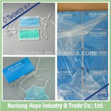 Chirurgische Wegwerfgesichtsmaske für Bezirk Gebrauch