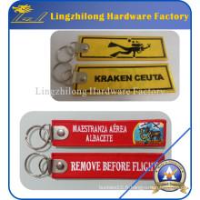 Enlever avant étiquette de broderie de marques de fligght