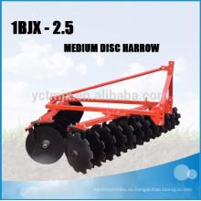 El mejor precio grada de disco compacta del tractor para la venta caliente