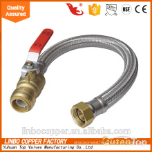 Stainless Steel water flexible hoses, Push to Connect