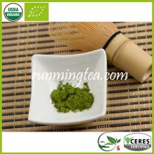 Poudre de thé vert organique Matcha (norme de l'UE)