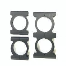 Collier de serrage de tube rond en aluminium CF de 28 mm pour le sport