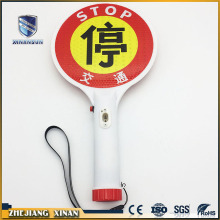 mini size waterproof rechargeable traffic stop sign