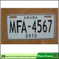 Рама номерного знака с тисненым логотипом на заказ