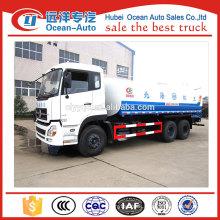 Alibaba china manufacturer 6x6 20000 liter water tank truck in Africa