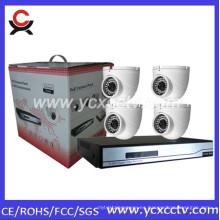 Cámaras de red CCTV Nvr kit