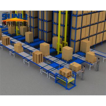 Hochleistungs-Paletten-Art-automatisiertes Wiederbeschaffungs-Gestell-System