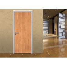 Einfache Design Eintritt Holz Tür für Haus