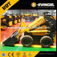 0.47m3 bucket capacity hot small skid steer loader for sale