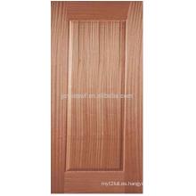 Chapa de madera puerta piel JS001